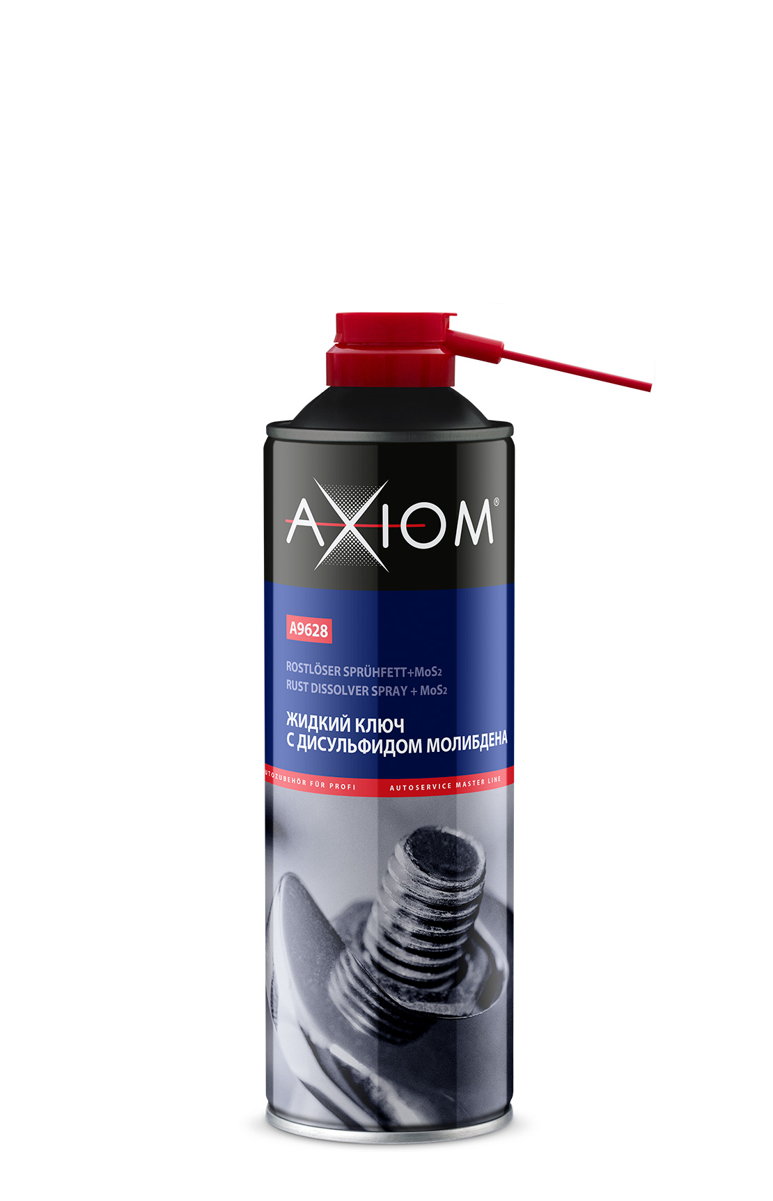 A9628 Жидкий ключ с дисульфидом молибдена AXIOM