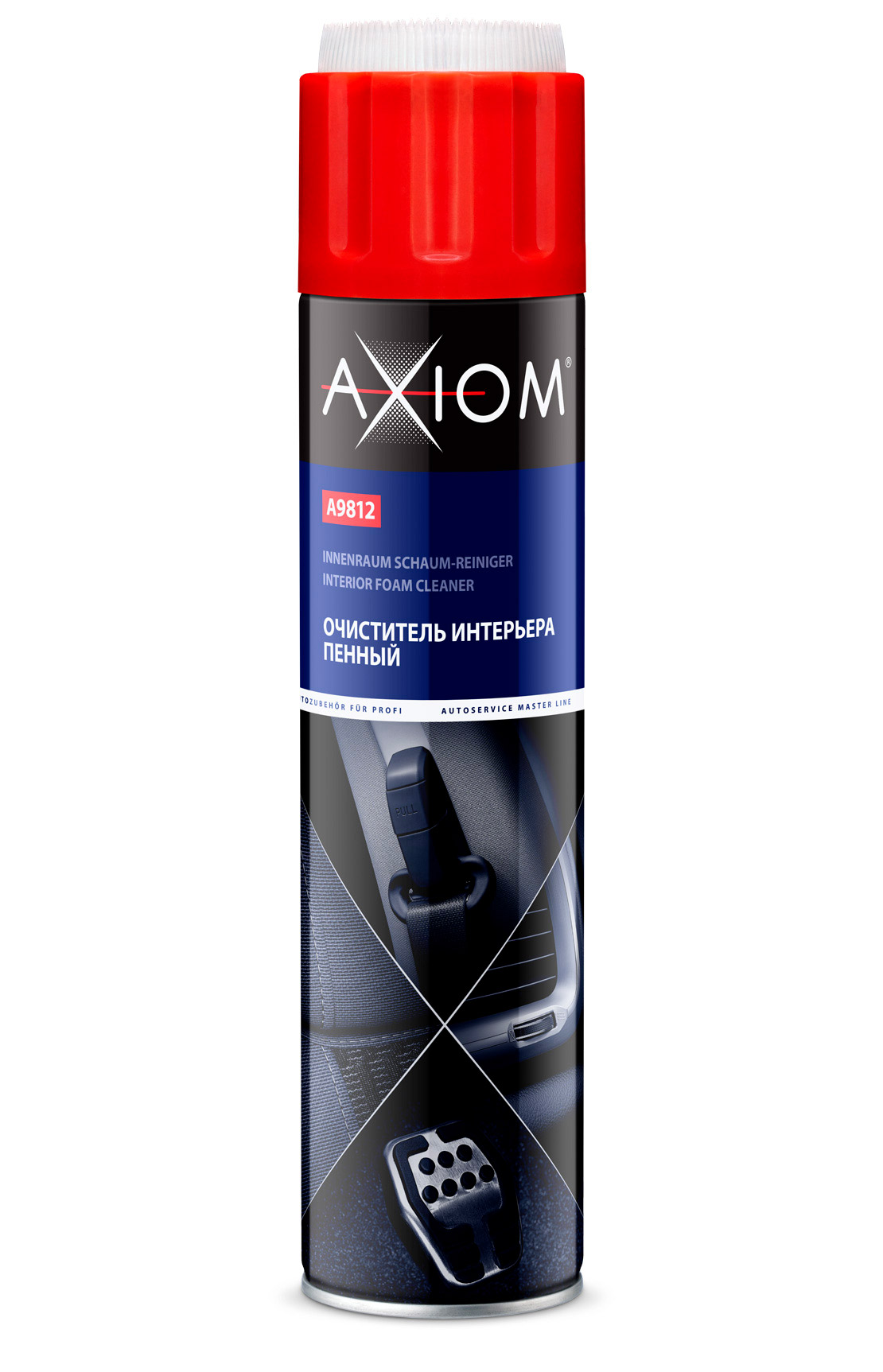 Очиститель интерьера пенный AXIOM